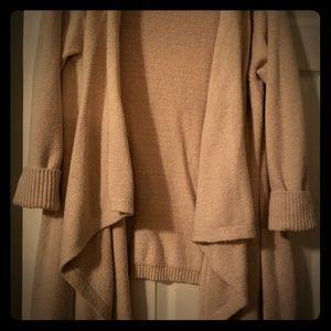 Old Navy Long Beige Sweater